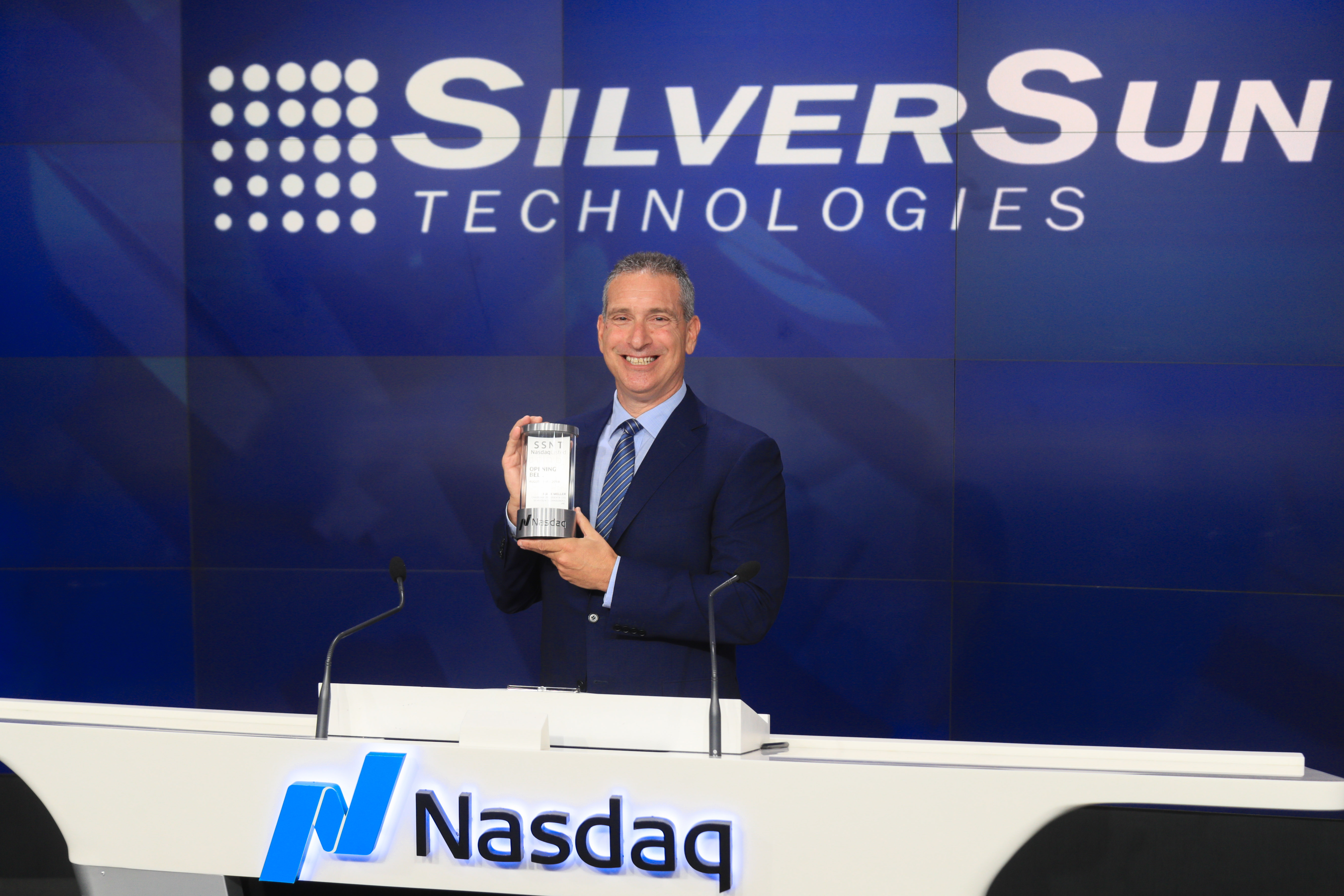 SWK Technologies, Inc. recently announced that Mark Meller, CEO of its parent company, SilverSun Technologies, Inc., was given the honor of ringing the Opening Bell at the NASDAQ MarketSite at Times Square, New York, on August 15, 2018