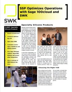 swk optimizes operations with sage 100cloud and swk